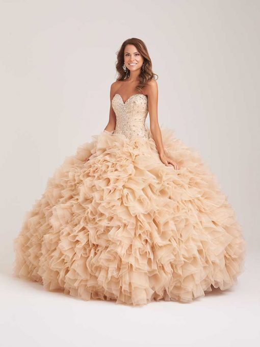 Allure Q501F-Champ-Quinceanera