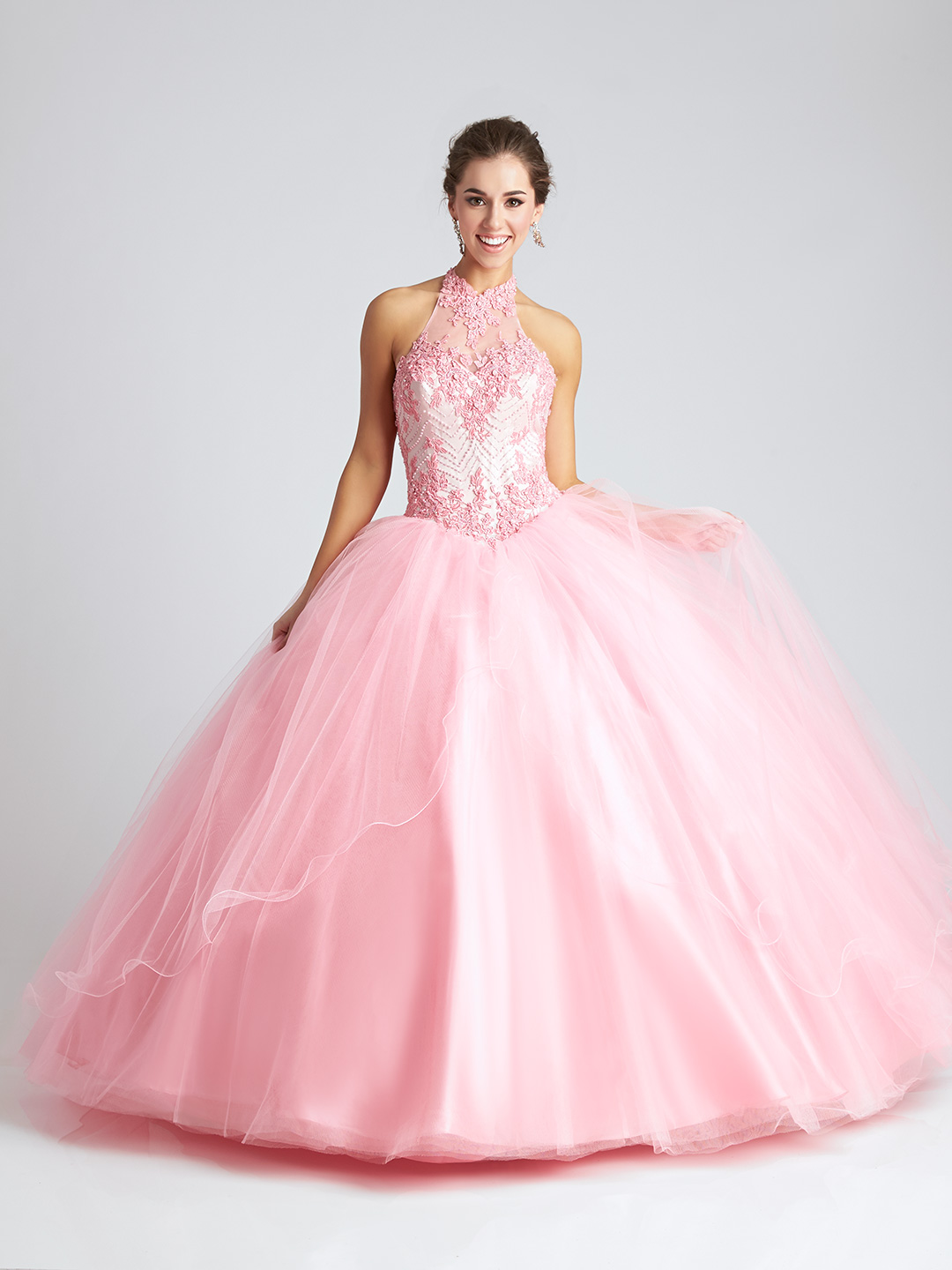 Allure Q542F-Blush-Quinceanera
